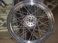 "CHROME 16"" WHEEL 67-72"
